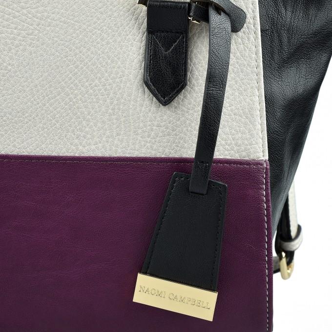 Елегантна дамска чанта Наоми Кембъл