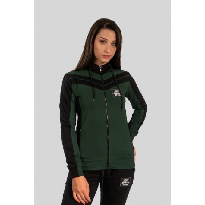Дамски екип BorianaSport зелено и черно