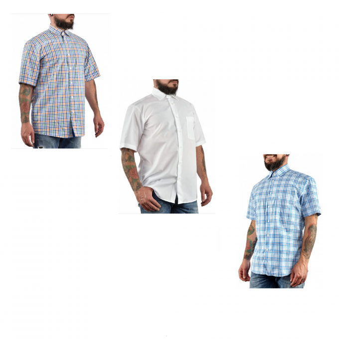 Лот мъжки ризи размер М